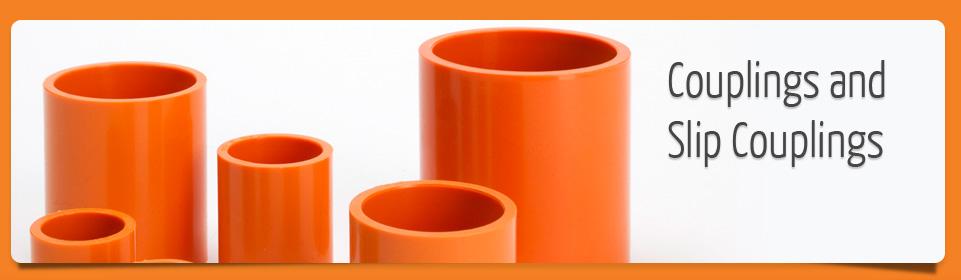 Conduit couplings, joiners and slip collars